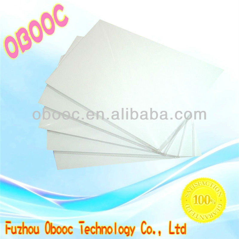 High quality plastisol heat clear transfer paper for home textile for sale