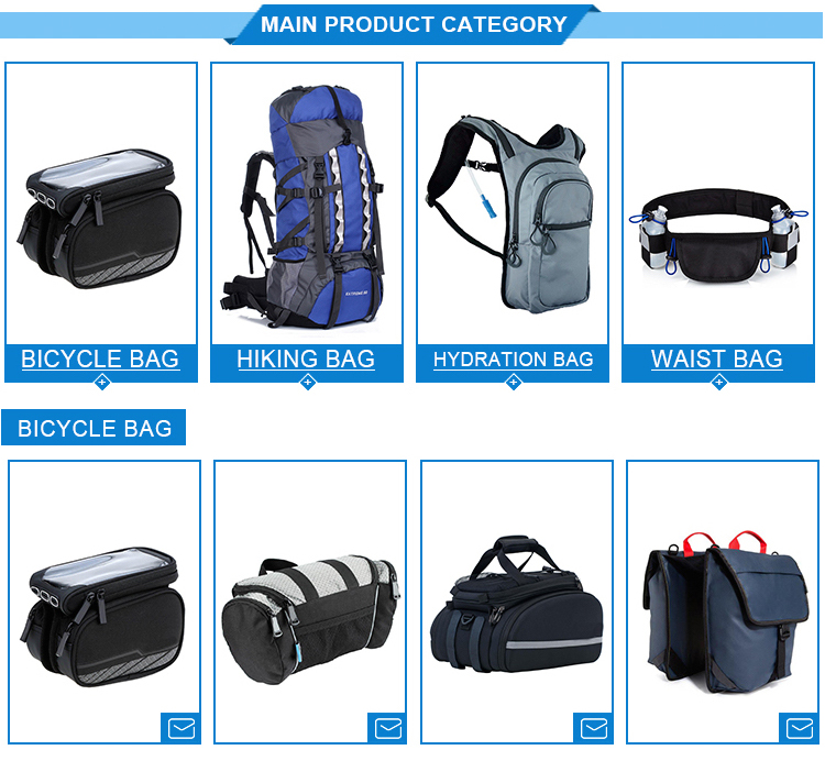 China Manufacturer Outdoor Running Bicycle Hydration Backpack Bag