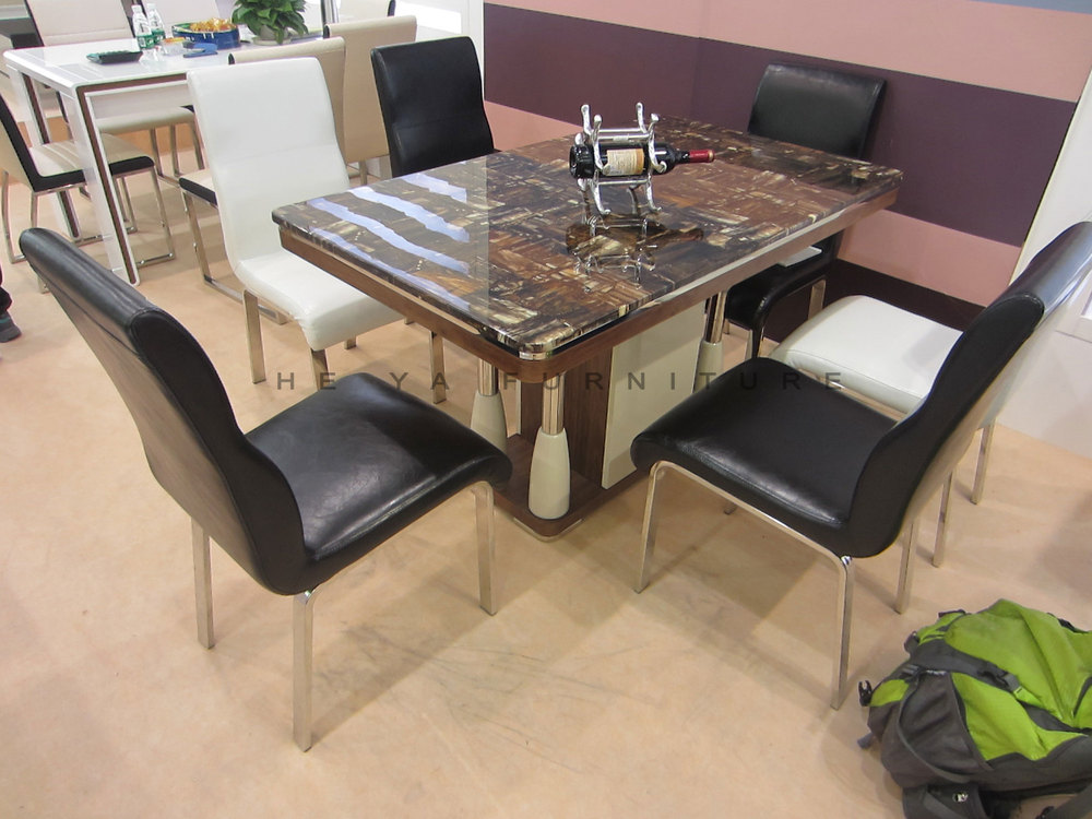 6 Seaters Marble Top Dining Table Designs In India Buy Marble Top