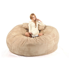 Confortable 3 places 7ft dormir rond en mousse à mémoire de forme rempli de <span class=keywords><strong>sac</strong></span> de haricot chaise amour <span class=keywords><strong>sac</strong></span>