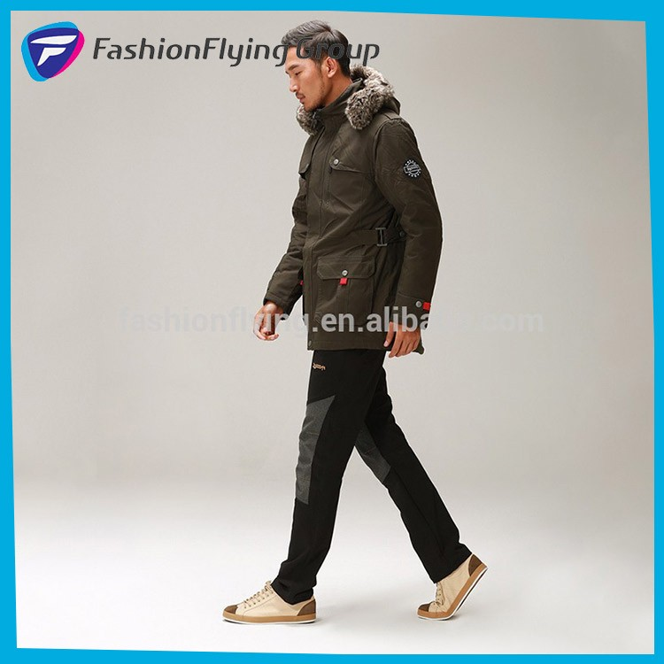 3M16C106 winter padded casual long men parka