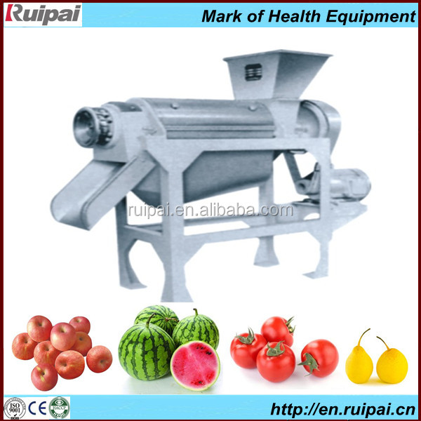 Industrial hydraulic fruit juicer press