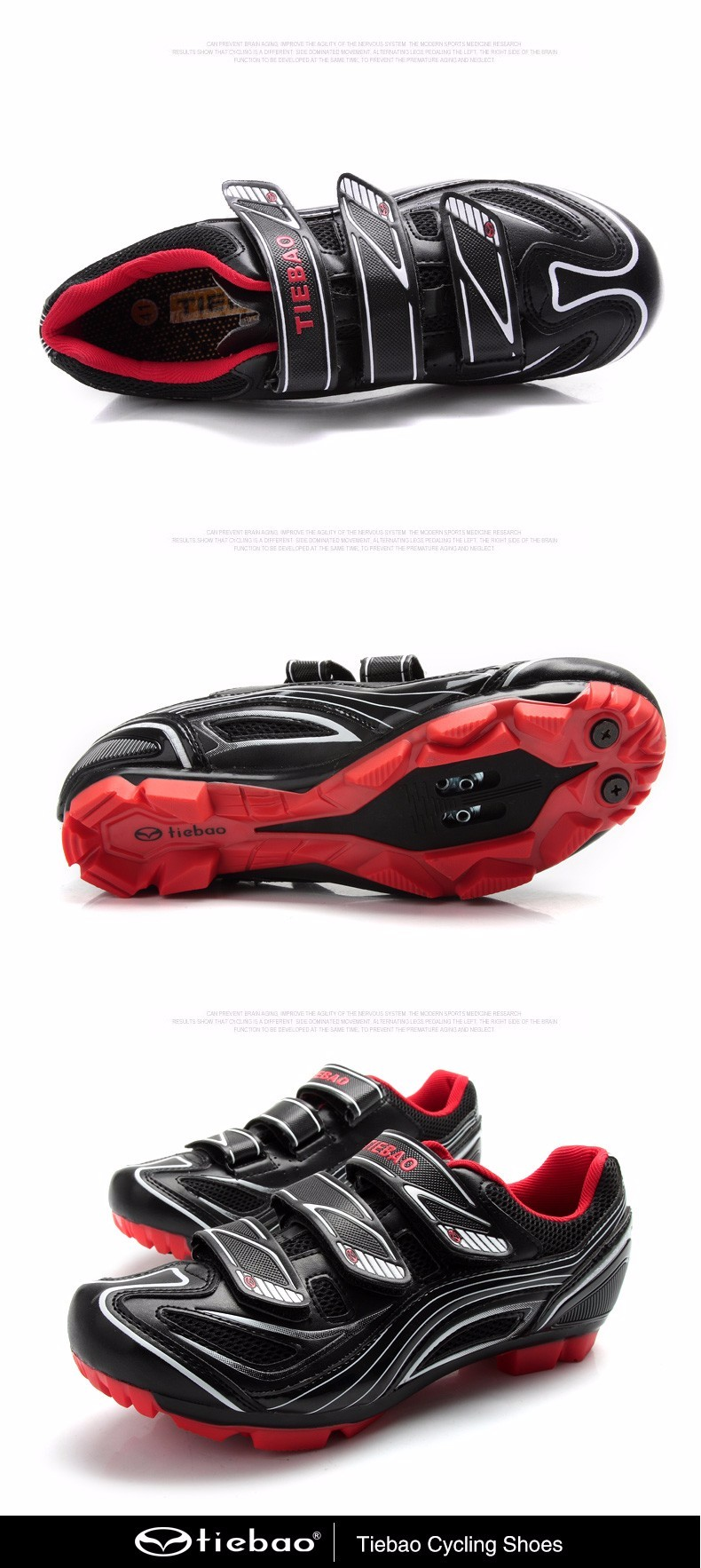 Tiebao Men/Women Outdoor Athletic Racing Road Cycling shoes. Autolock/Selflock bike shoes. SPD/SL/LOOK-KEO CLEATED BICYCLE SHOES