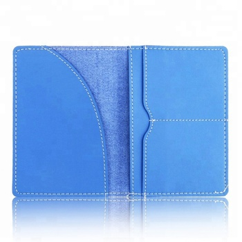 Real Cow Hide  Leather Passport Holder