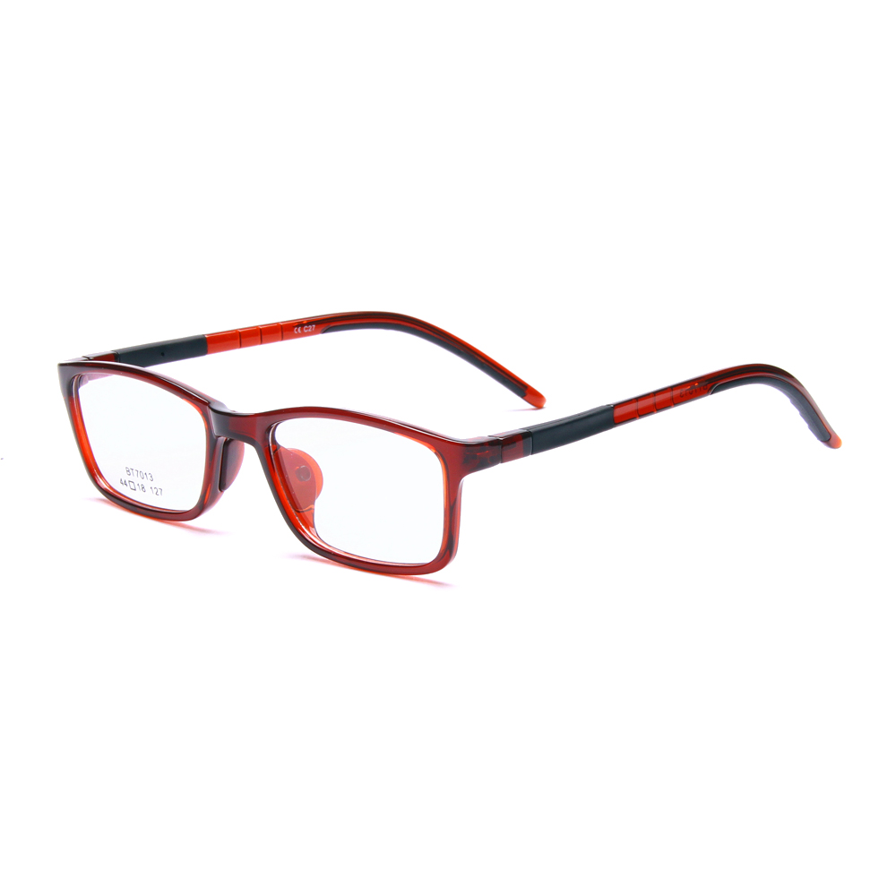 Non Prescription Rectangle Eyeglasses Frames For Girls Boys With Clear Lenses