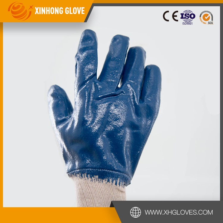 Nylon Pvc Dotted Safety Gloves/oil Gas Resistant Glove,Cotton ...