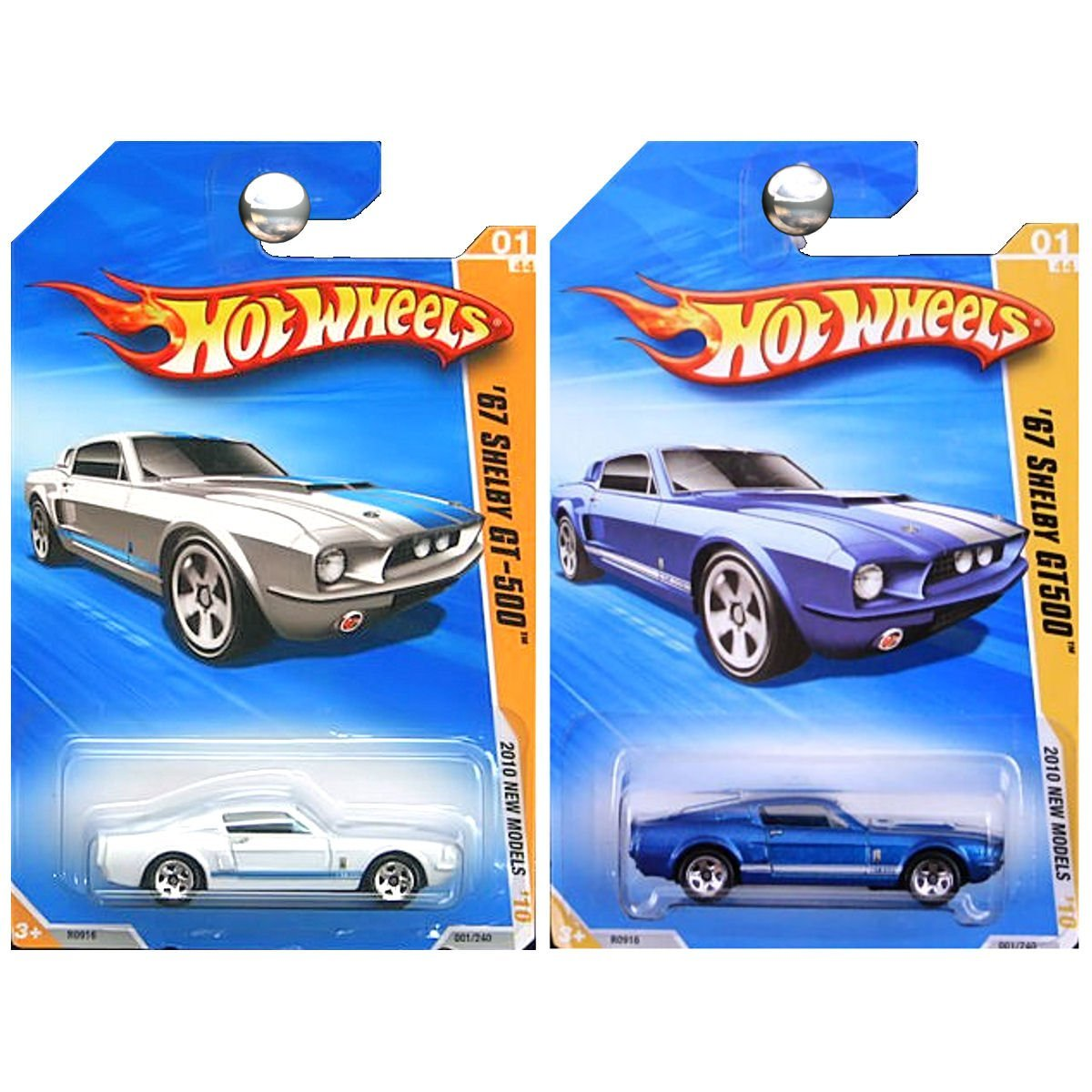 Hot Wheels /'69 Ford Mustang 2007 New Models White