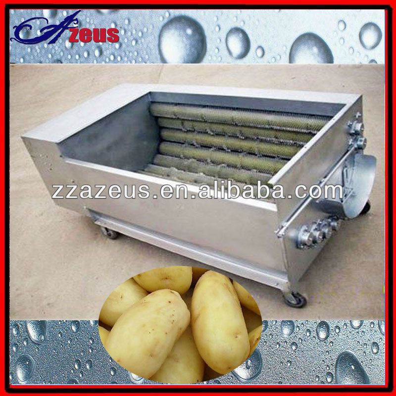 Low cost potato peeler machine with stainless steel