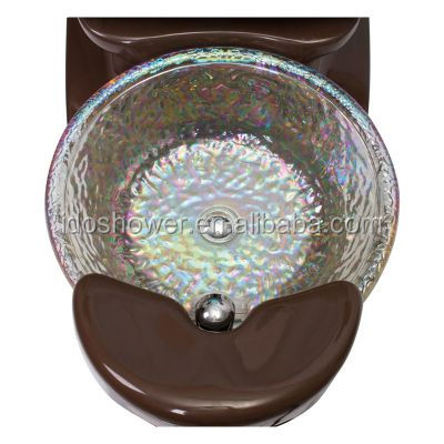 Luxury Design Spa Pedicure Chair Jet Parts With Foot Basin