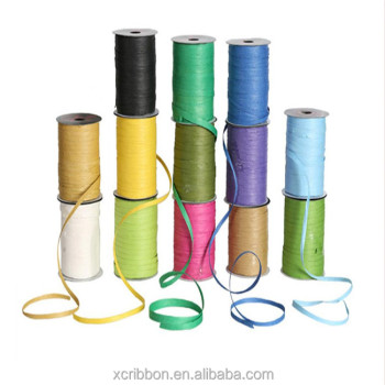 5mm Paper Raffia Ribbon Roll For Gift Package