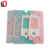 Customized printed clear window earphone foldable paper box headphone packaging