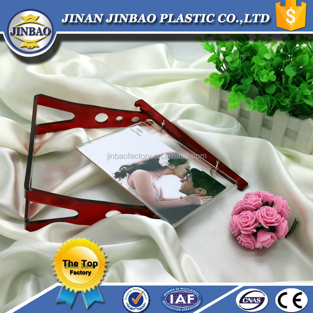 jinbao cheap and fine acrylic 2x2 photo picture frame