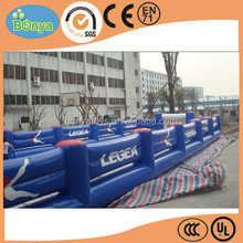 Customize giant inflatable soccer playground with competitive price,inflatable sports for adult