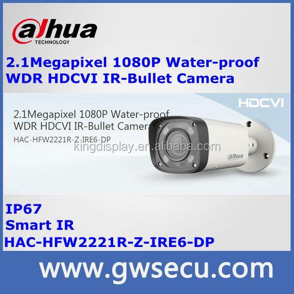 Dahua HAC-HFW2221R-Z-IRE6-DP 2 megapixel waterproof WDR HDCVI IR bullet camera