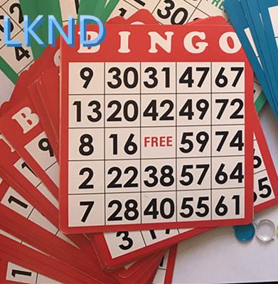 Rainbow paper 8000 Total Cards BINGO PAPER