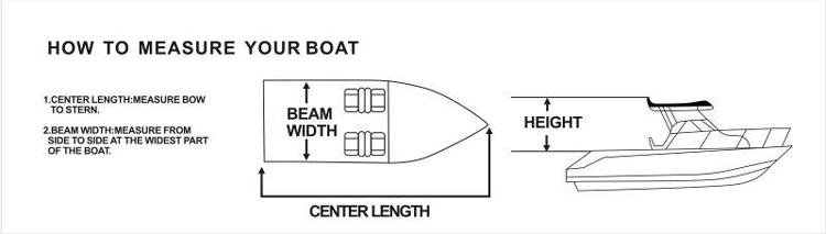 Marine leveranciers nieuwe ontwerp universele boot bescherm cover voor laser zeilboot