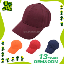 Fashion Unique Curve Brim Closed Back Baseball Caps High Quality Custom Cheap Sport Cap Hats