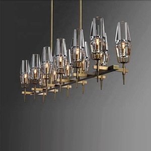 12 lights home decorative led chandeliers hanging pendant lamp / light