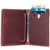 Men's Slim Bifold Craze Horse Leather Wallet Money Clip Credit Card Holder
