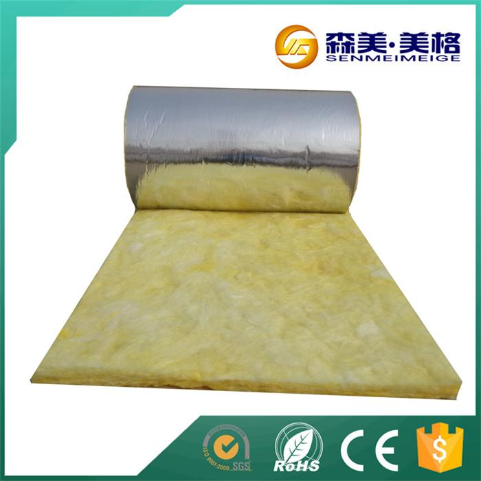 Blanket fiber glass wool with foil
