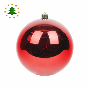 Bulk wholesale decorative ornaments items large giant plastic hanger 6 inch christmas ball