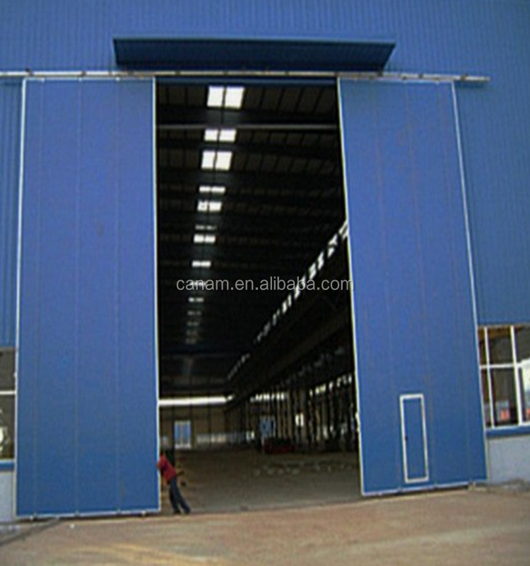 Factory price aluminum folding door industrial