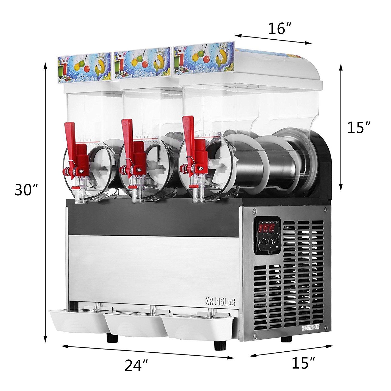 Commercial Slush Machine Industrial Slush Machine Frozen ...