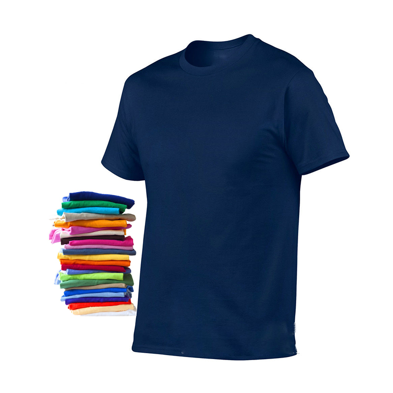 Men 100% Cotton Round Collar Custom oem Logo design blank Plain Mens tshirt T <strong>shirt</strong>