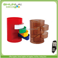 office stationery plastic pen stand,pen container