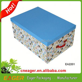 Cardboard Clothing Storage Boxes With Best Factory Price
