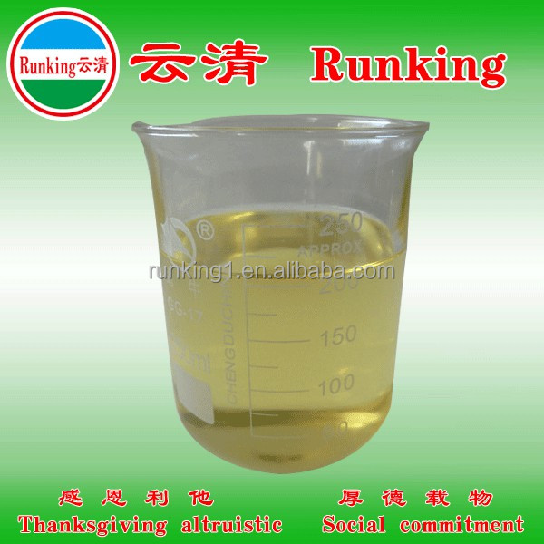 Runking flame retardant chemicals for fabric