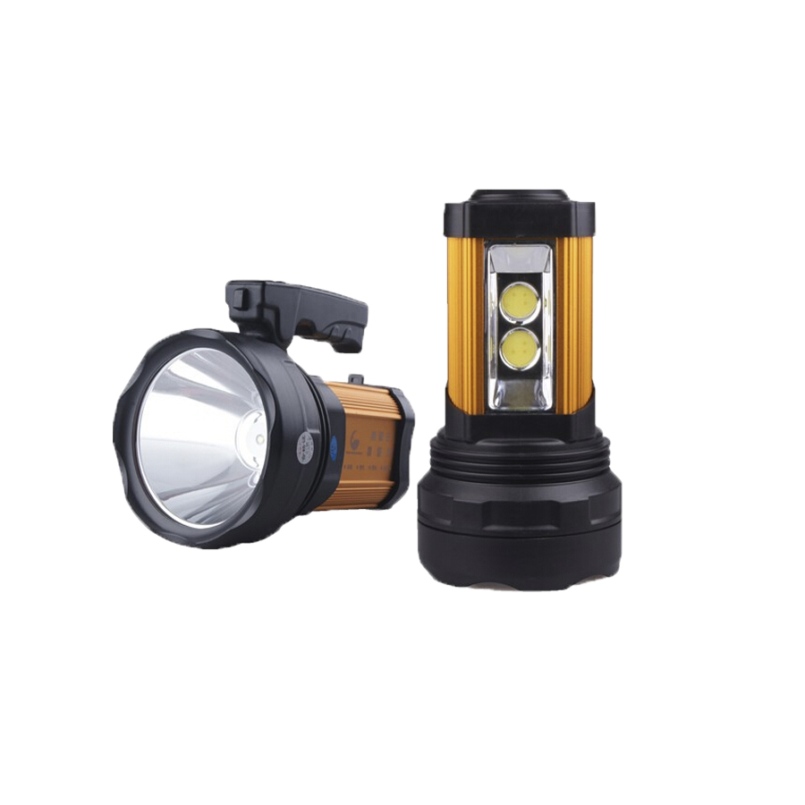 China manufacturers waterproof rechargeable USB charging interface CREE 15W LED handheld searching spotlight JG-A398