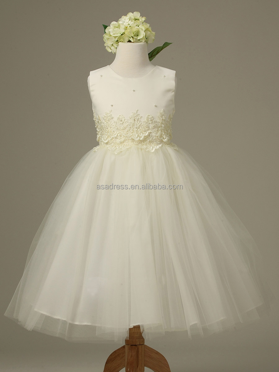45f3a8f7681 Blue And White Tulle Flower Girl Dress - Gomes Weine AG