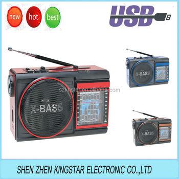Rx-9009 Golon New Small Am/fm/sw 9 Bands Torch Radio Usb/sd Music ...