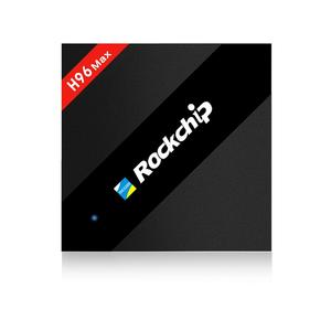 H96 Max 4GB 32GB Rockchip RK3399 Six Core Android TV Box 2.4G/5.8G Dual WiFi Hot
