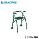 Hot sales two wheels rollator standing walker for old people