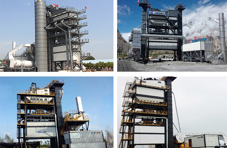 Best price XAP120 asphalt mixing plant korea price for sale