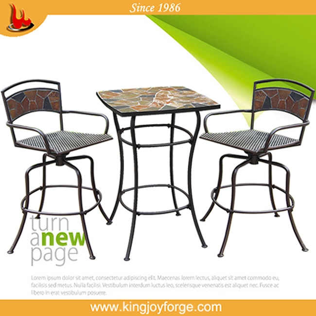 2014 new design patio furnituer mosaic set