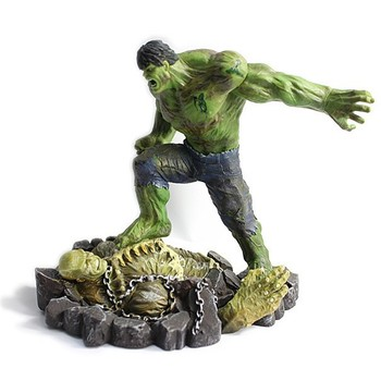 Resina hulk figura di cartone animato giocattolo personaggio dei
