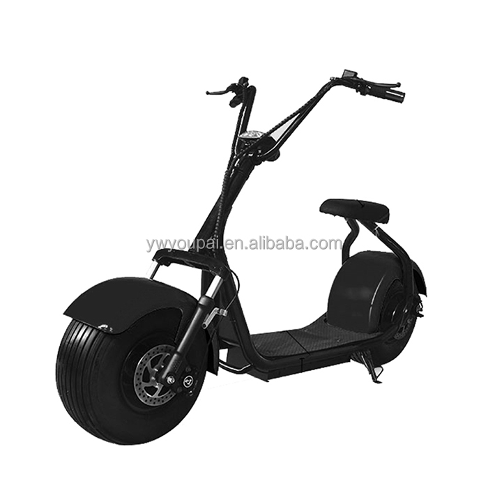 "18"" airless tyre 1000w Harley Electric Scooter Citicoco Fat Wheels for Adults Electrical Scooter"