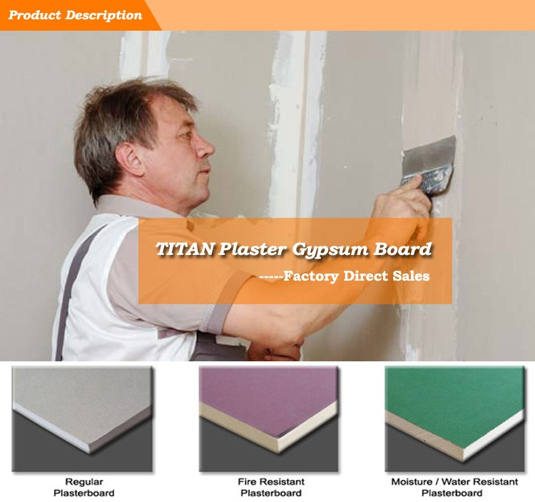 Regular Product Gypsum Board : Fire rated gypsum board panels decorative wall