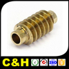brass fittings for furniture cnc machining turning brass parts