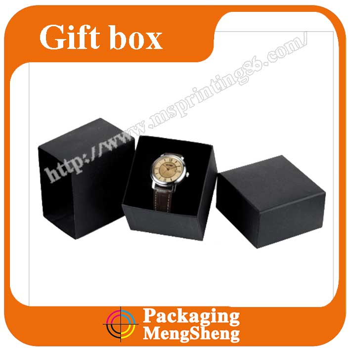 Top Quality Customized Logo Branded Display Single Watch Box For Men