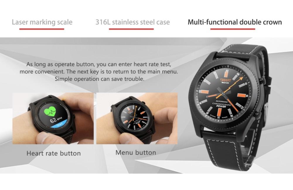Hot Sale S9 Luxury Fashionable Wristwatch Heart Rate Monitor Whatsapp Skype  Reminder Smart Watch - Buy Hot Sale Wristwatch,Fashionable Smart