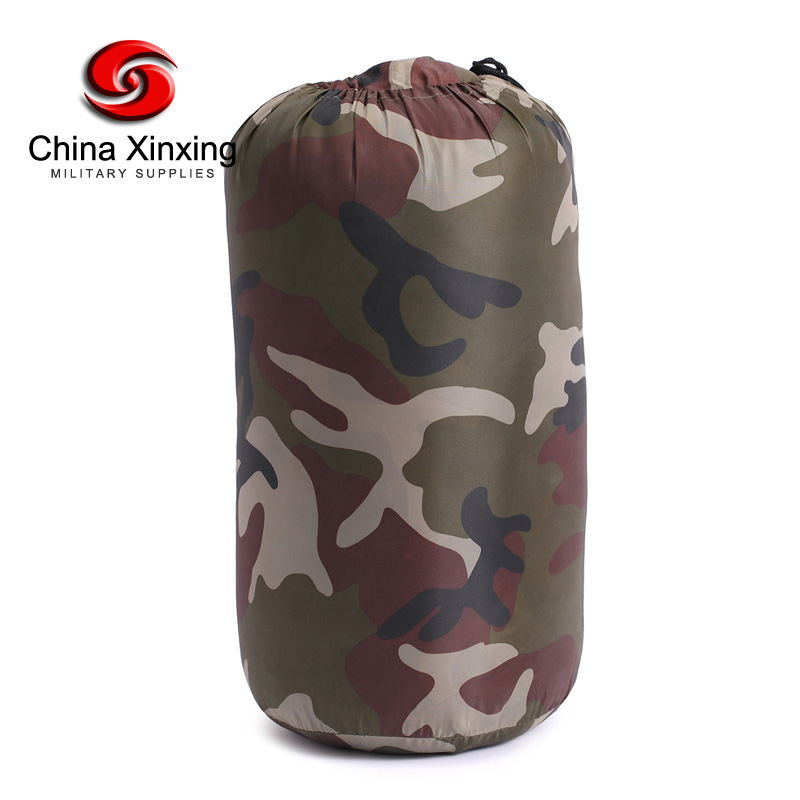 Chinese Government Supplier Outdoor Waterproof Travel Ultralight Sealing High army Camping Military camouflage sleeping bags