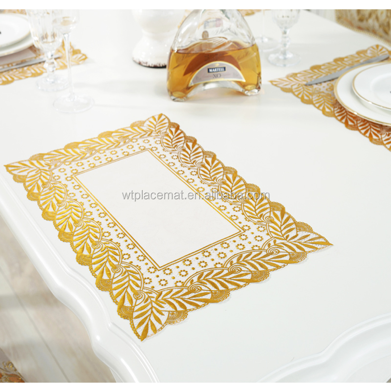 China Factory 100% Vinyl Table Mat Placemat For Muslim