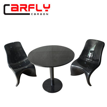 Modern Coffee table Carbon Fiber Cafe Table