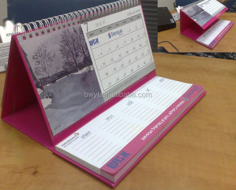 Elegant Desk Calendar Design : Desk calendar design ideas elegant with