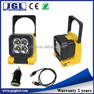 New arrival model IL4001 lithium battery emergency work light Cree 12W rechargeable portable firefighting light