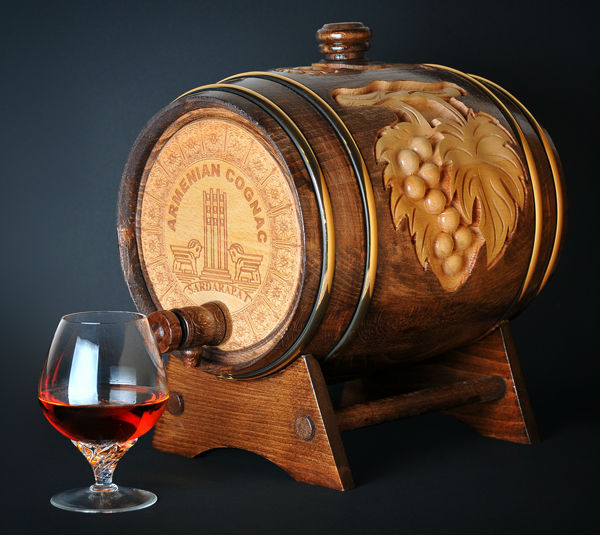 Beech Wood Barrel